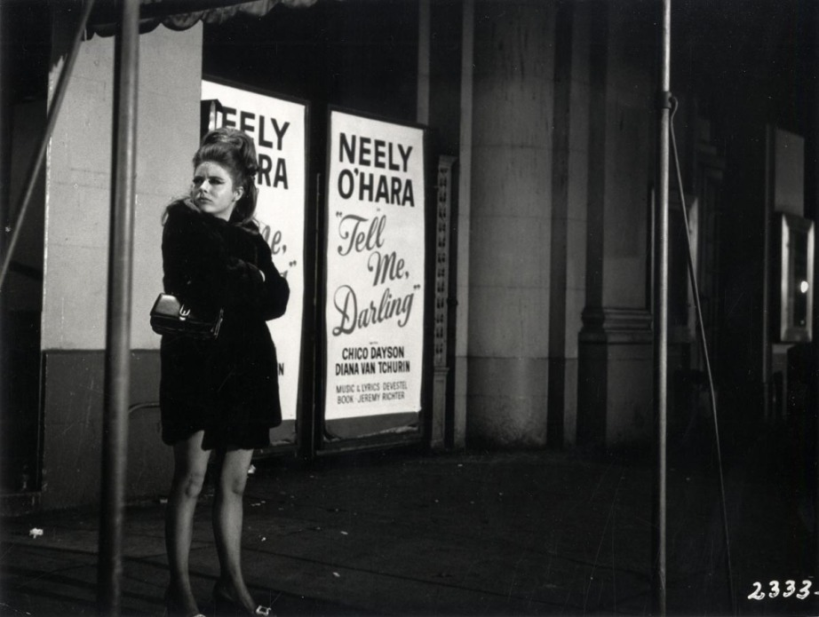 "Inscription on back of photograph: ""I Can't stop thinking about that audience tonight!"" Neely, '67"