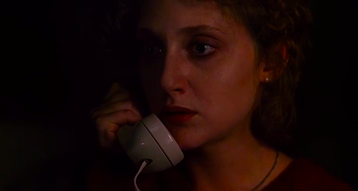 """Listen to me. We've traced the call. It's coming from inside the house. Now a squad car's coming over there right now, just get out of that house."" Carol Kane When a Stranger Calls Fred Walton, 1979 Cinematography 