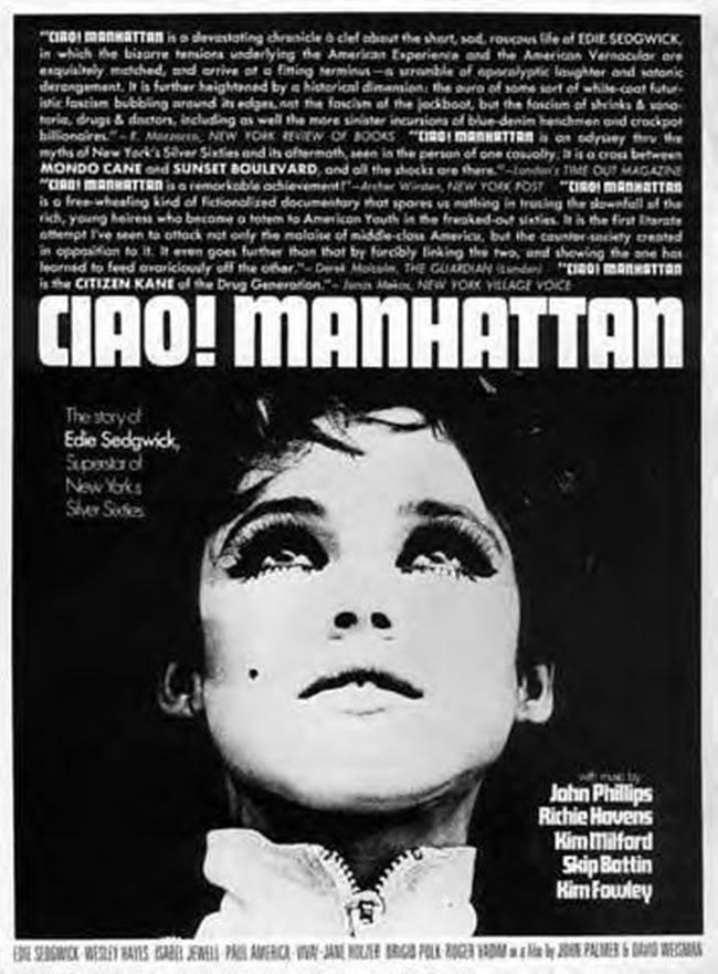 Ciao! Manhattan John Palmer & David Weisman, 1972