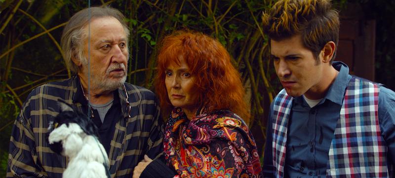 Something sinister is going on! Jean-Francois Balmer, Sabine Azema and Johan Libéreau Cosmos Andrzej Zulawski, 2015 Cinematography | Andre Szankowski