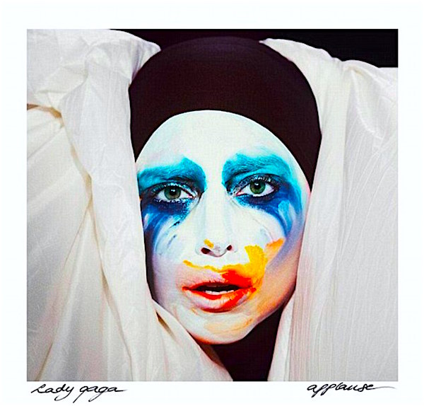 "Liquid Sky continues to flow... ""I stand here waiting for you to bang the gong. To crash the critics saying, ""is it right or is it wrong?"" If only fame had an IV, baby could I bear Being away from you, I found the vein, put it in here..."" Lady Gaga Applause, 2013"