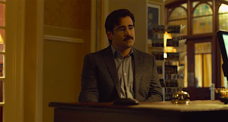 Colin Farrell ponders his choices... The Lobster Yorgos Lanthimos, 2016